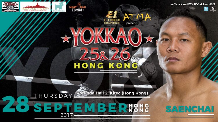 Who wants to fight against Saenchai this September 28th in Hong Kong?
