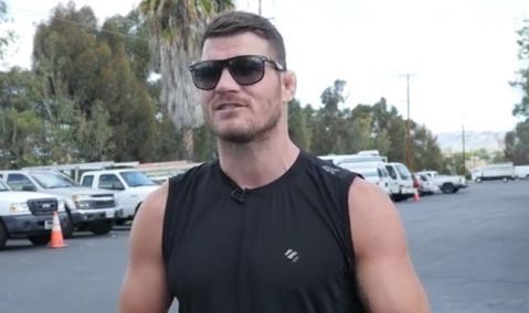 Bisping lands the role in the upcoming 'My Name is Lenny' biopic