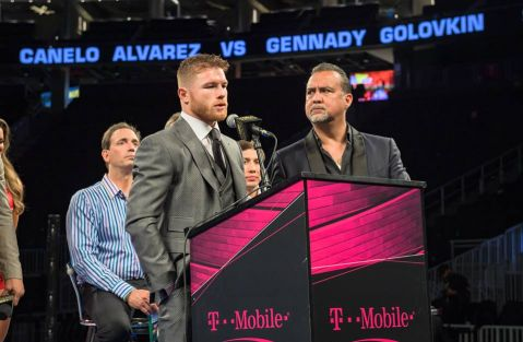 Canelo Alvarez vs. Gennady Golovkin official for September 16th