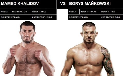 Champion vs champion – Khalidov vs Mańkowski headlines KSW Colosseum
