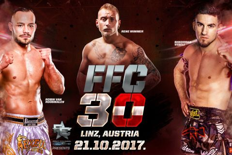 Robin Van Roosmalen returns to main event FFC 30 in Linz