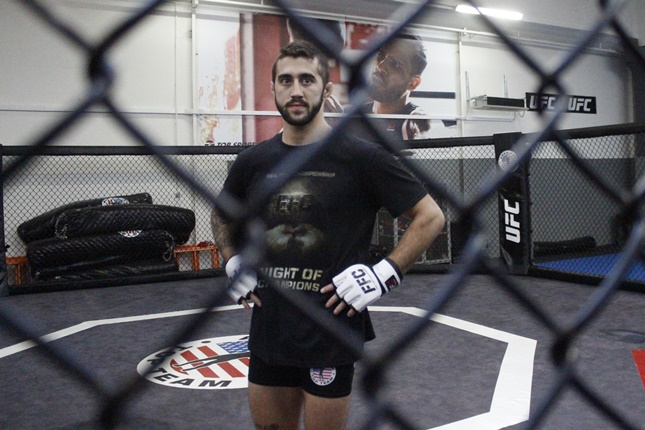 FFC featherweight champion Filip Pejić against Greece's biggest prospect Alex Savvidis at FFC 28