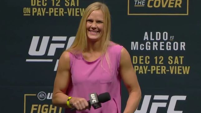 Holly Holm Willing to Fight Outside Her Weight Class, Including Against Cyborg