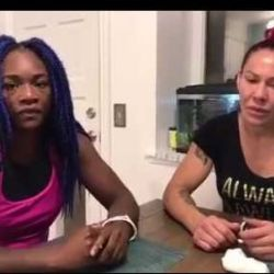 Cris Cyborg & Claressa Shields Discuss Cyborg's Boxing, Sparring Footage & Mayweather vs McGegor