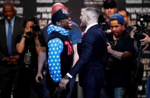 Mayweather vs McGregor World Tour: Los Angeles Press Conference Highlights