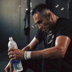 Tony Ferguson on losing his title: 'You shouldn't strip a champion due to a freak injury that happened during a UFC-obligated media event'