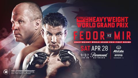 Bellator 198: Fedor vs. Mir fight card