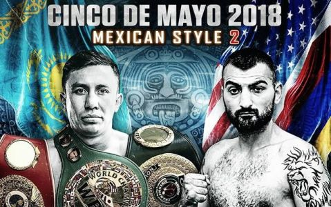 Gennady Golovkin to fight Vanes Martirosyan on May 5