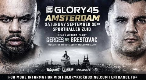 Hesdy Gerges vs. Mladen Brestovac Named GLORY 45 Amsterdam Co-Headline Bout Following Training Injury to Nieky Holzken