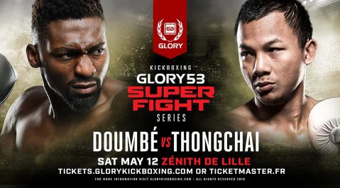 Thongchai Sitsongpeenong Replaces Eyevan Danenberg in GLORY 53 SuperFight Series Bout Against Cédric Doumbé