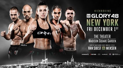 GLORY Interim Featherweight Championship Pits Kevin VanNostrand Against Anvar Boynazarov at GLORY 48 New York on Dec. 1