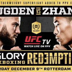 Bailey Sugden vs. Chenglong Zhang Elevated to PPV Bout at GLORY: REDEMPTION
