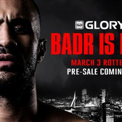 Badr Hari Headlines GLORY 51 Rotterdam on March 3