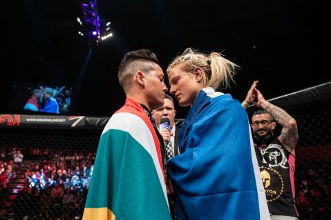 Amanda Lino out of EFC 83