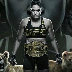 Amanda Nunes not worried about training link with Pennington