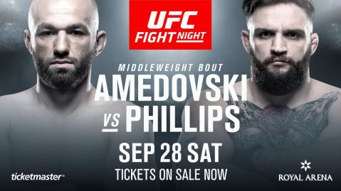 Fifth fight confirmed for UFC Fight Night Copenhagen