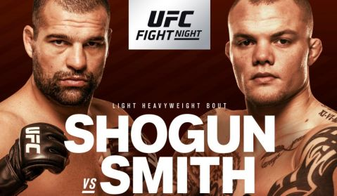 UFC Fight Night: Shogun vs. Smith fight card
