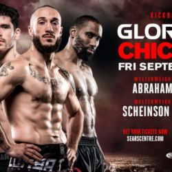 Richard Abraham and Malik Watson-Smith Join Welterweight-Heavy Fight Card at GLORY 58 Chicago
