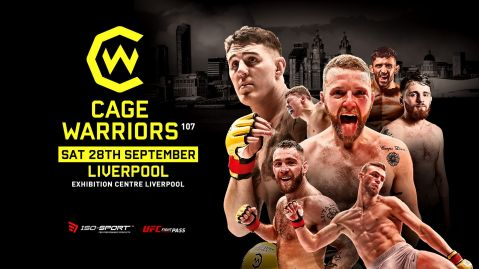 Cage Warriors 107 full fight card