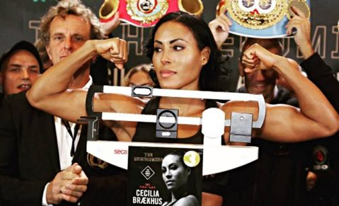 Cecilia Braekhus says Holly Holm does not have KO power in her punches predicts Cris Cyborg Win