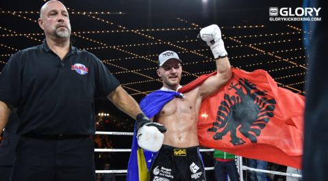 Gashi digs deep to claim second GLORY win in Madison Square Garden