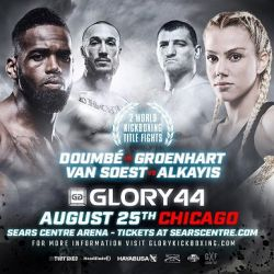 GLORY 44: Chicago Weigh-in Results