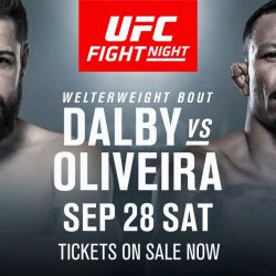 Dalby v Oliveira added to Copenhagen card