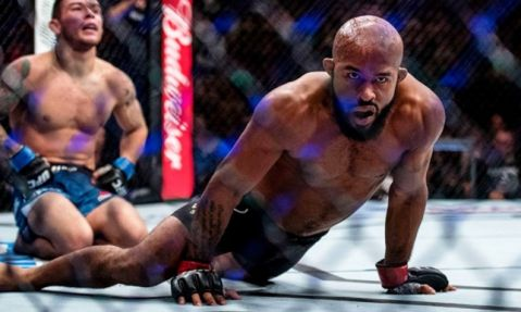 Demetrious Johnson on historic UFC 216 title defense: 'No one was going to take this away from me'