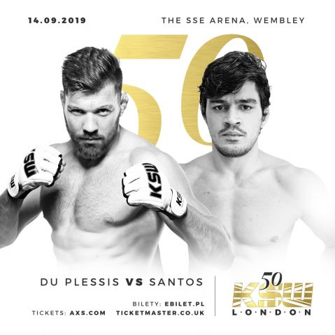 Du Plessis returns and Costigan debuts at KSW 50