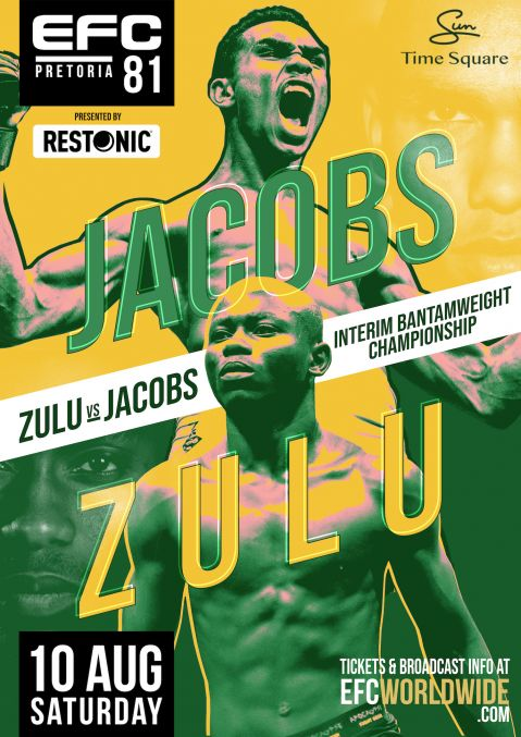 EFC 81: Zula and Jacobs shot at gold