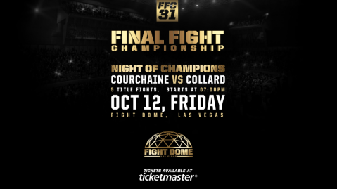 FFC 31 Night of Champions Fight Card Announced