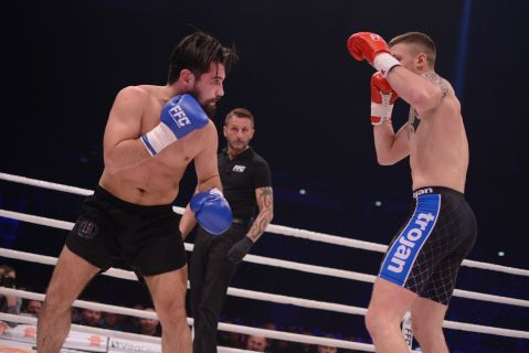 Giorgi Bazanov against Greece's KO artist Meletis Kakoubavas at FFC 30