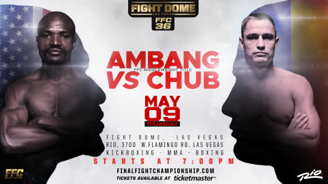 FFC 36 Fight Card: Middleweight Kickboxing Title On The Line!