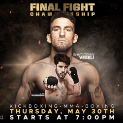 FFC 37: Shkodran Veseli Forced Out Through Injury