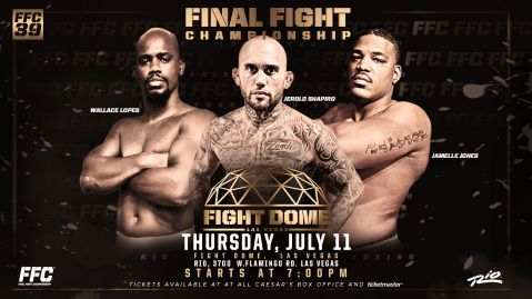 FFC 39: Heavyweights Headline at the Fight Dome!