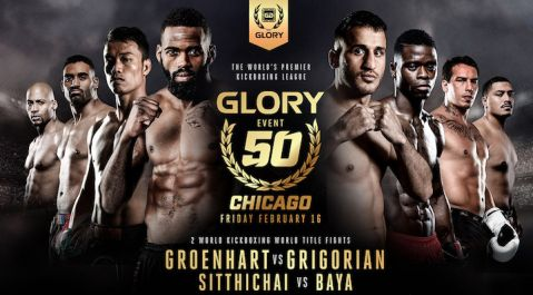 GLORY 50 Chicago and GLORY 50 SuperFight Series Fight Preview