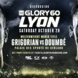 GLORY 60 Lyon Fight Card Finalized for Saturday, Oct. 20