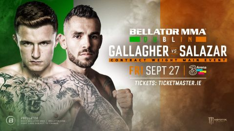 Bellator Dublin/Bellator 227 updated card and broadcast details