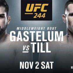 Gastelum v Till added to UFC 244