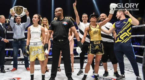 Anissa Meksen vows to remain champion 'for a very long time' following GLORY 53 win