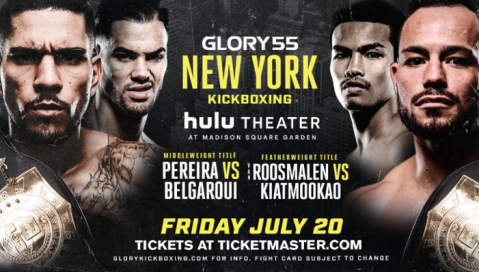The Hulu Theater at Madison Square Garden Hosts GLORY 55 New York and GLORY 55 SuperFight Series on July 20