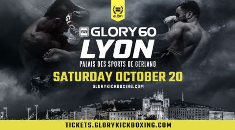 GLORY 60 Lyon Scheduled for October 20