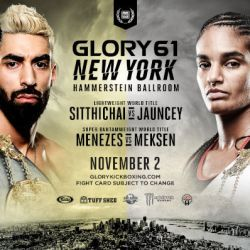 Kevin Vannostrand vs. Massaro Glunder Headlines GLORY 61 SuperFight Series