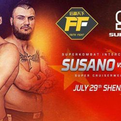 Bruno Susano vs Cristian Ristea for the Intercontinental title in China