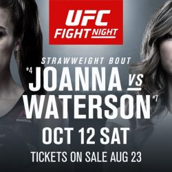 Jędrzejczyk vs Waterson confirmed for UFC Fight Night: Tampa