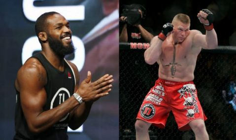 Jon Jones explains why he's wants to fight Brock Lesnar but not UFC champ Stipe Miocic