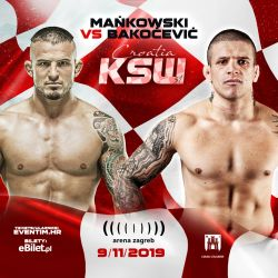Borys Mańkowski vs Vaso Bakočević confirmed as co-main for KSW 51