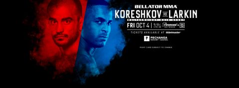 Bellator 229: Koreshkov vs Larkin results