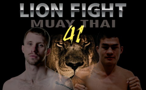 Lion Fight 41 headlined by Charlie Peters and Saemapetch Fairtex!