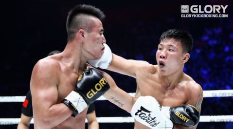 Liu Xu earns 'Performance of the Night' for GLORY 57
